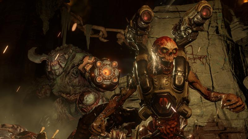 В Doom появилась поддержка управления движениями на Nintendo Switch