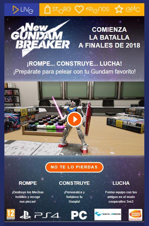 x4hxb8q6 - New Gundam Breaker может выйти на PC