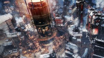 Разработчики Frostpunk представили официальную обложку игры и рассказали о трудностях эндгейма