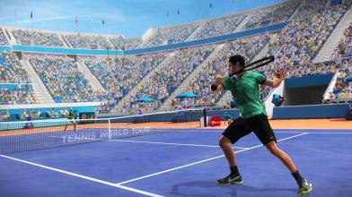 Симулятор тенниса Tennis World Tour выходит в конце мая на PC и консолях