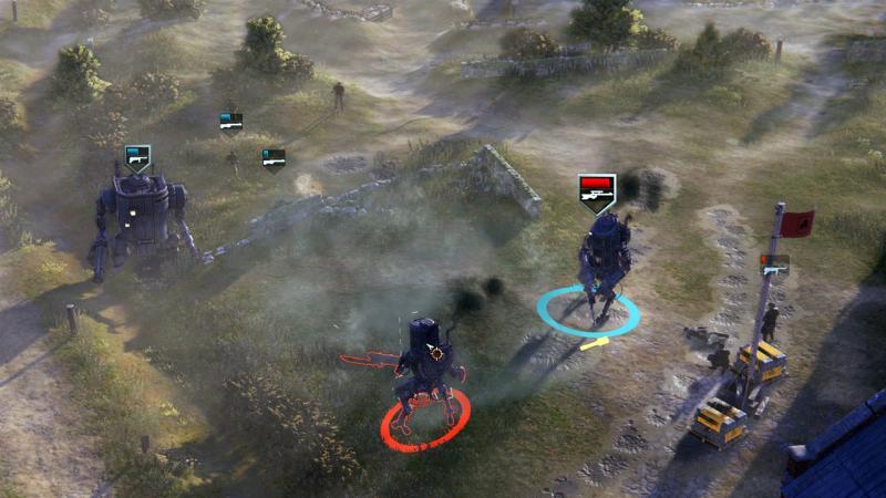 Новый геймплей дизельпанковой стратегии Iron Harvest
