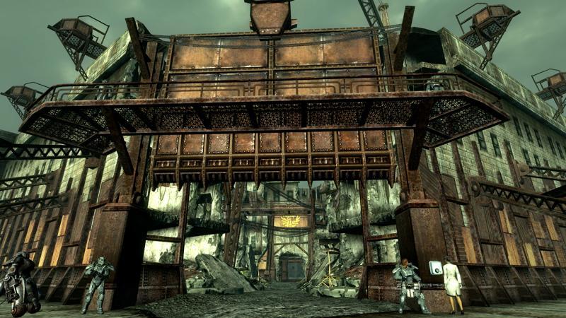 Фанатский ремейк Fallout 3 на движке Fallout 4 был закрыт