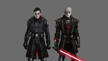Дарт Кеноби, Дарт Люк и джедай Вейдер на артах отмененной Star Wars: Battlefront 4
