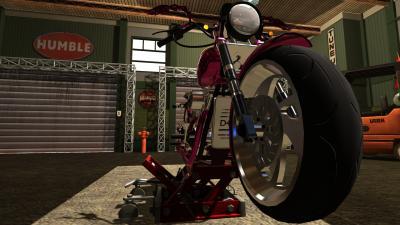 Ошибка механика. Обзор Motorbike Garage Mechanic Simulator