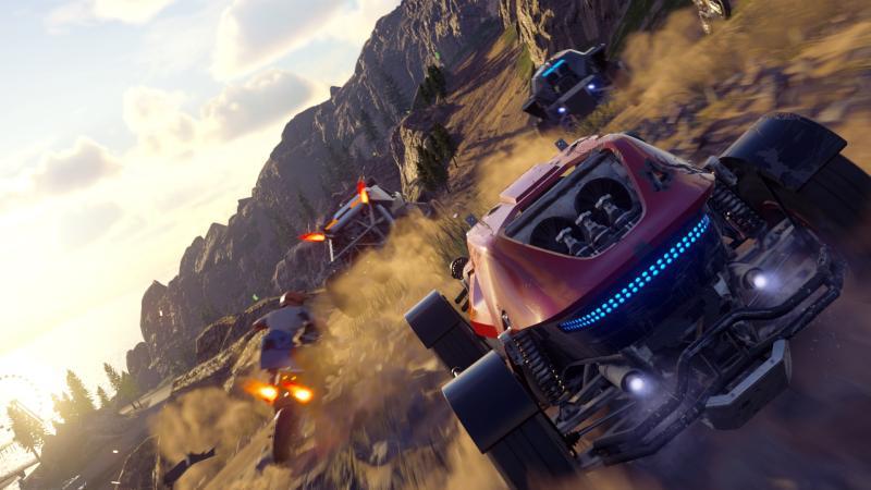 Onrush на Xbox One X получит более качественную графику, чем на PS4 Pro, но фаворитом будет PC