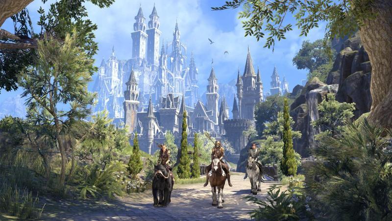 Официально анонсировано дополнение The Elder Scrolls Online: Summerset