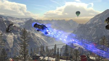 Новый геймплей аркадного рейсинга Onrush из одиночных и мультиплеерных режимов