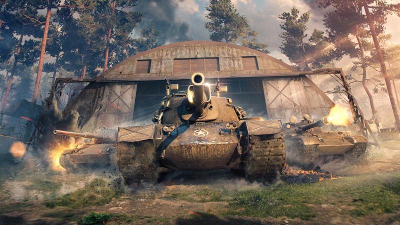 Круче консолей: яркие скриншоты обновленной World of Tanks