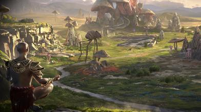 Грязекраб в метро в релизном трейлере The Elder Scrolls: Legends - Houses of Morrowind