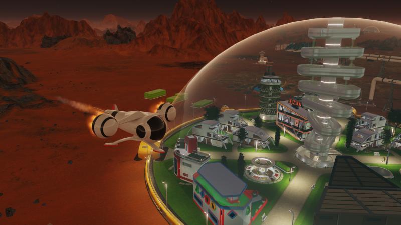 В Surviving Mars появился трибьют в память о Стивене Хокинге