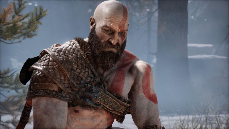 История эволюции Кратоса в закулисном ролике God of War
