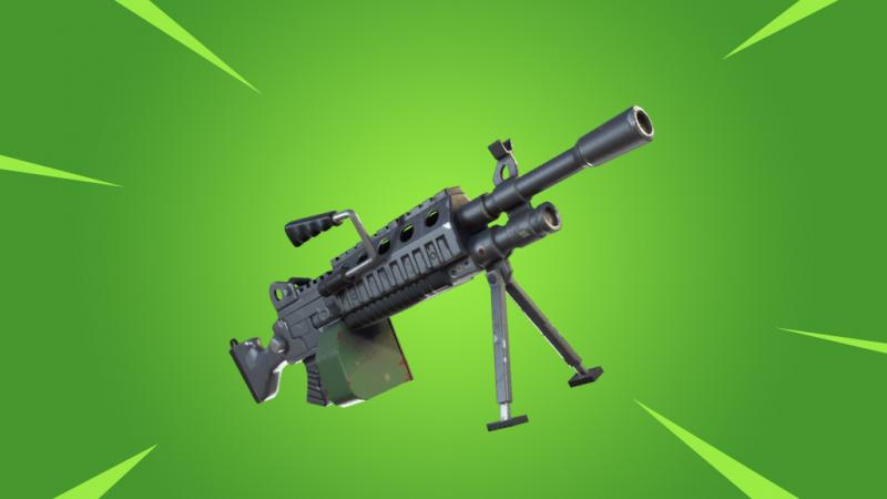 В Fortnite: Battle Royale скоро пожалуют ручные пулеметы