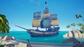 В Sea of Thieves появилась корабельная кастомизация для легендарных пиратов