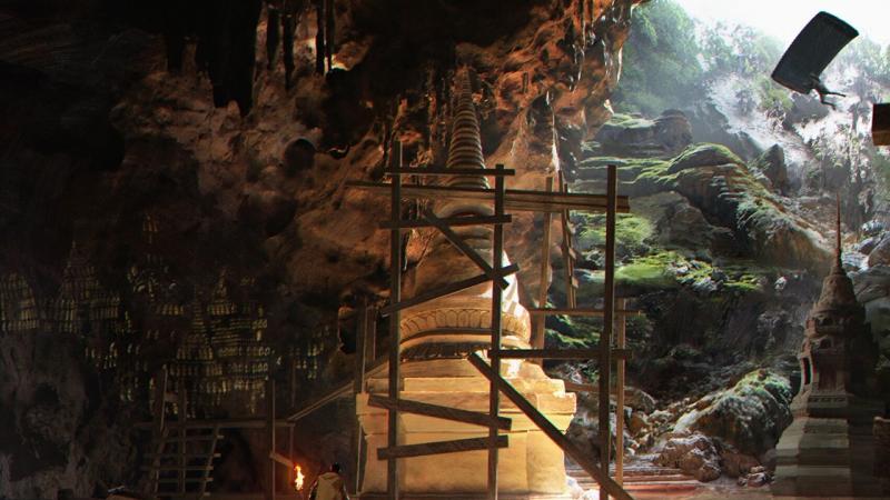 На новой карте PUBG можно будет десантироваться прямо в сеть подземных пещер