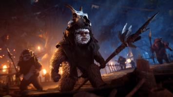 Ужасающие эвоки в стриме нового дополнения для Star Wars Battlefront 2