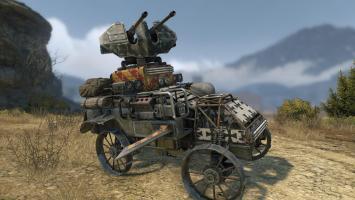 В Crossout появились Рыцари и привезли новое оружие