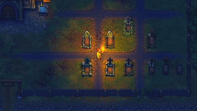 Геймплейный трейлер симулятора управления кладбищем Graveyard Keeper