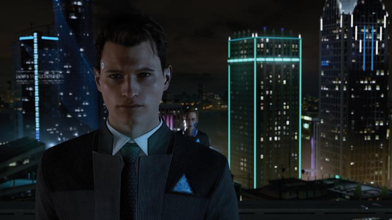 Завтра в PSN выходит демка Detroit: Become Human