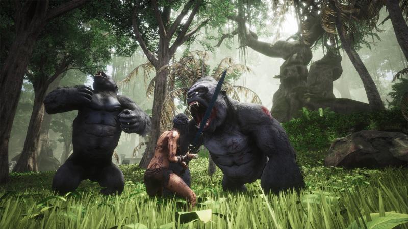 Новые локации в свежем ролике Conan Exiles
