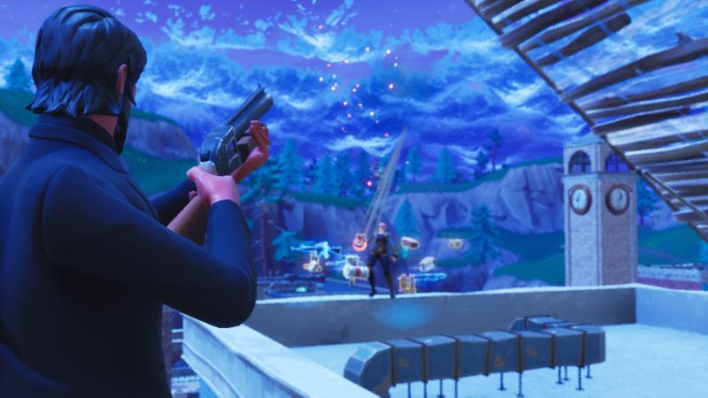 Функция повторов позволила игрокам Fortnite: Battle Royale создавать кинематографичные ролики