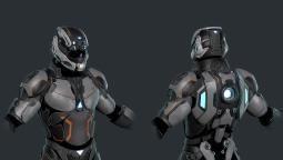 Главный персонаж и его корабль в новом ролике Dolmen