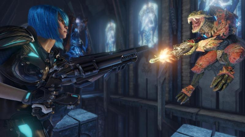 Началось ограниченное тестирование бесплатной версии Quake Champions