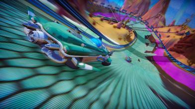 Новый геймплейный трейлер аркадного рейсинга Trailblazers