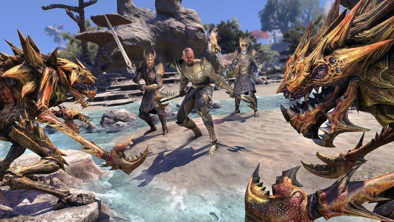 Орден Псиджиков в новом трейлере The Elder Scrolls Online: Summerset