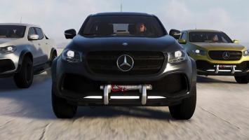 Mercedes-Benz X-Class в новом трейлере The Crew 2