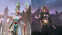 Две эльфийские воительницы начнут битву в дополнении The Queen and The Crone для Total War: Warhammer 2