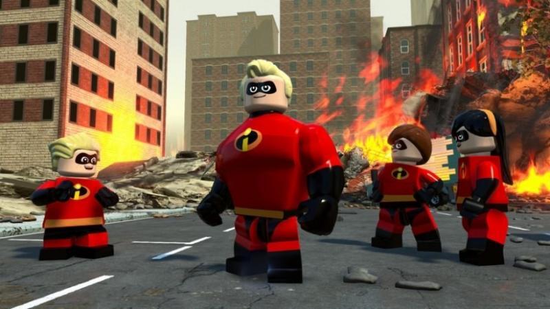 Новый трейлер LEGO The Incredibles