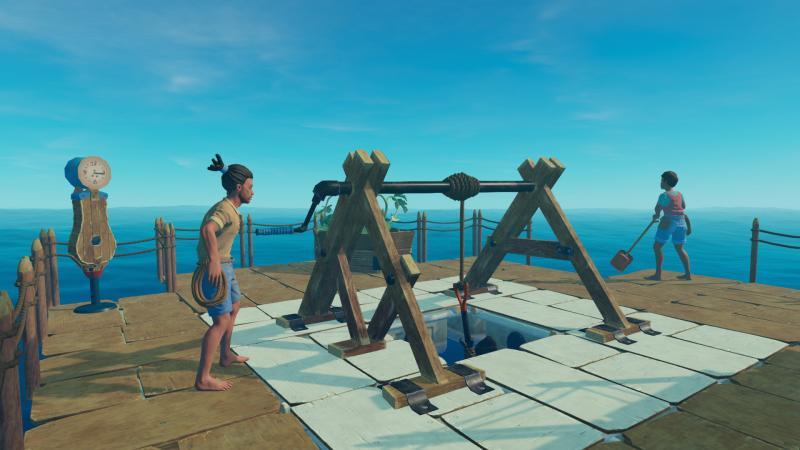 Симулятор плота Raft вышел в раннем доступе Steam