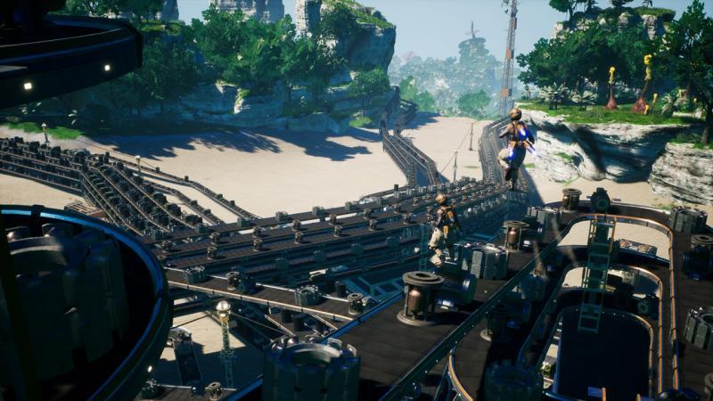 Дебютный геймплей Satisfactory от разработчиков Goat Simulator