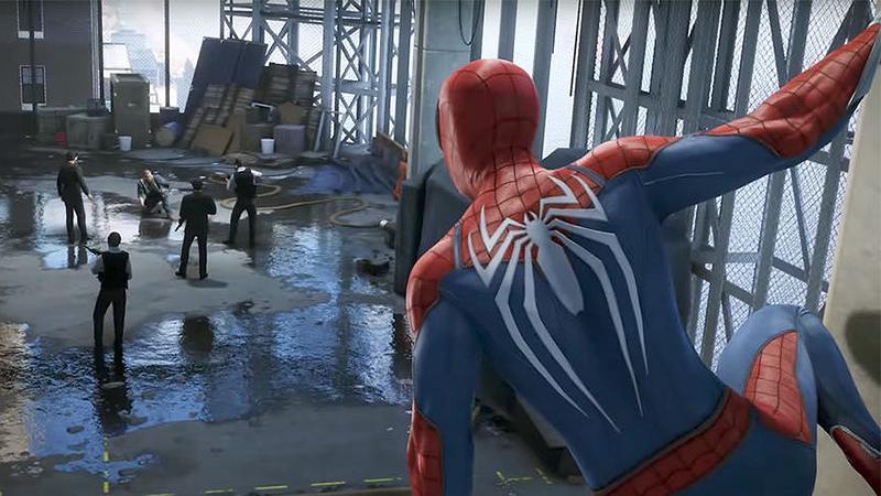 Впечатляющий геймплей Spider-Man с выставки E3