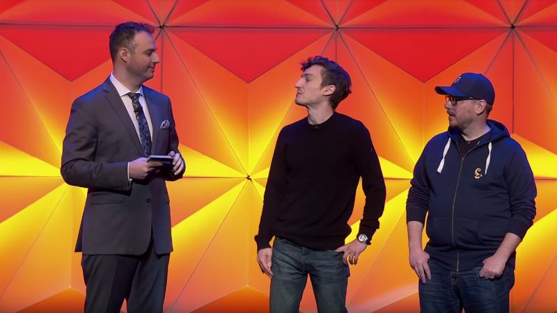 Ведущий PC Gaming Show выглядел своеобразно.
