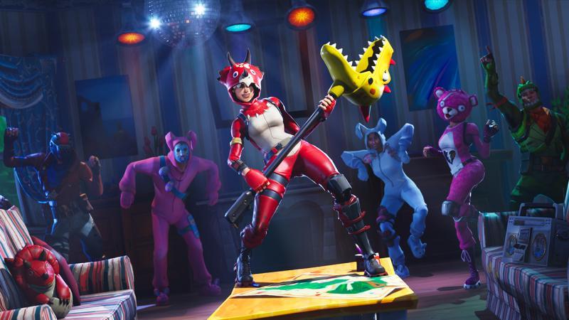 Персонажи Fortnite: Battle Royale получат улучшенные лицевые анимации в танцах