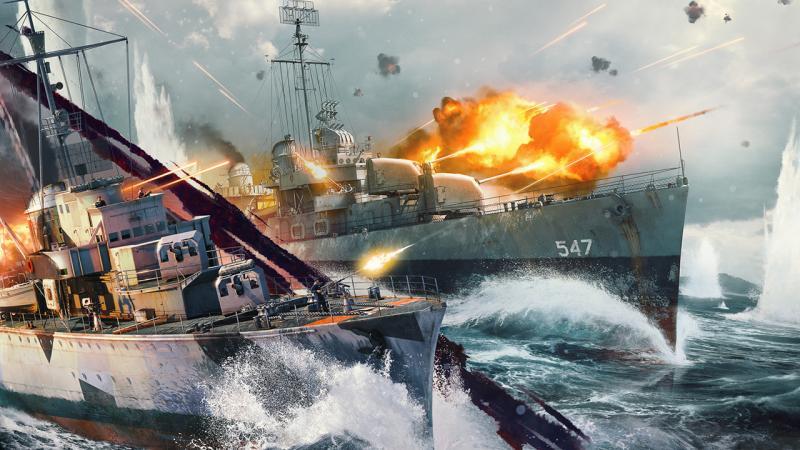 В War Thunder стартовало закрытое тестирование морских сражений