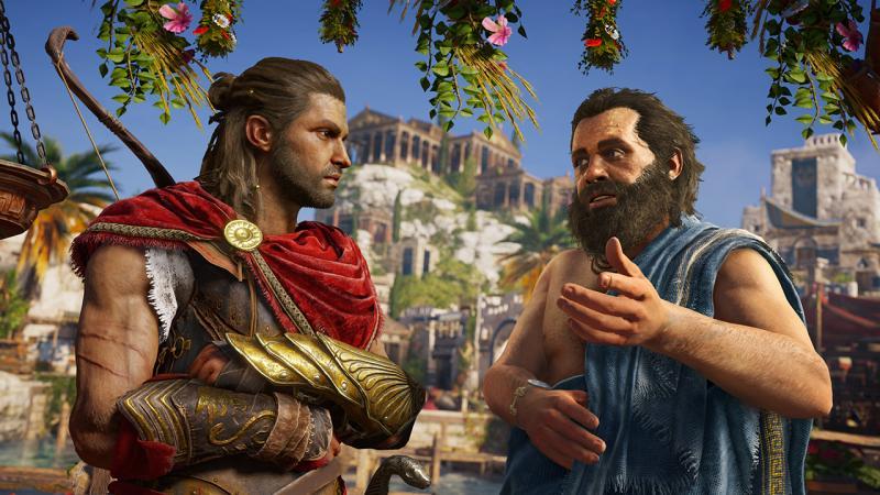 Сюжет Assassin's Creed: Odyssey затронет и современный сеттинг