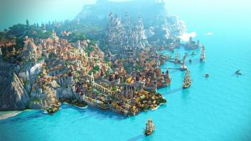 Новиград из The Witcher 3 эпично воссоздали в Minecraft