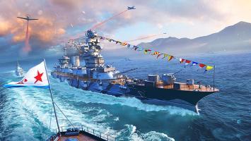 World of Warships дает возможность попасть на парад ВМФ России
