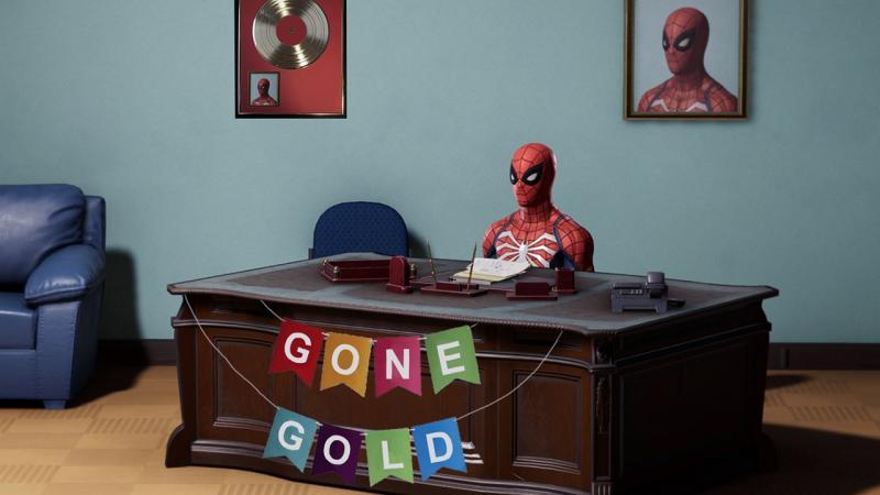 """Spider-Man от Insomniac ушла """"на золото"""""""