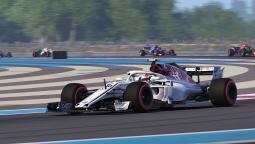 Первая демонстрация игрового процесса F1 2018