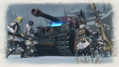 На консолях вышла бесплатная демка Valkyria Chronicles 4