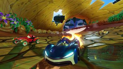 Представлен новый геймплейный ролик Team Sonic Racing