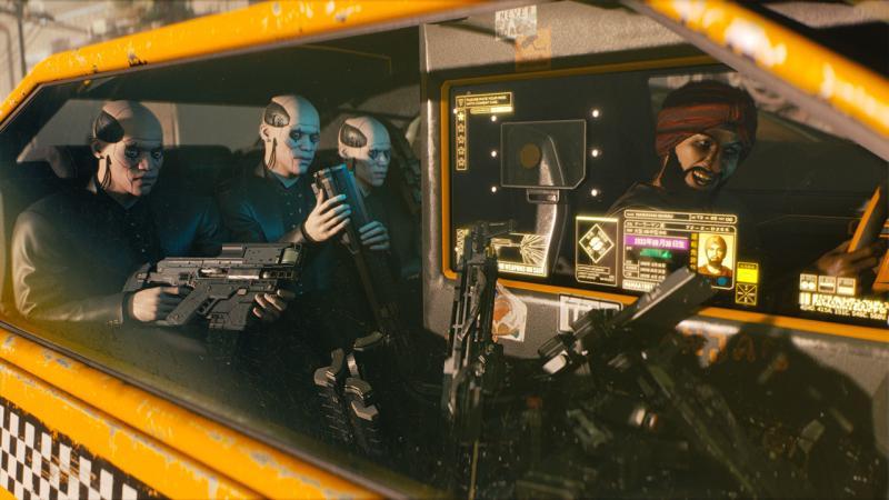 В Cyberpunk 2077 вас ожидают динамические погодные условия