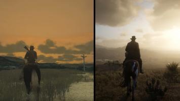 Сравнение графики Red Dead Redemption 2 и оригинальной Red Dead Redemption