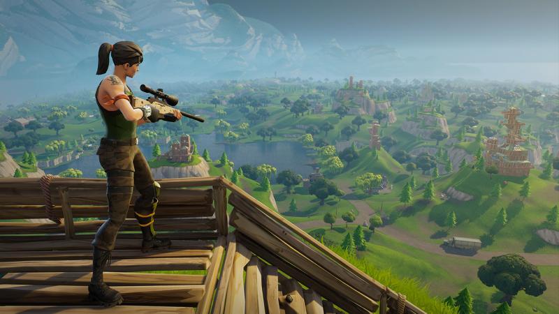 В Fortnite: Battle Royale скоро появится тяжелая снайперская винтовка