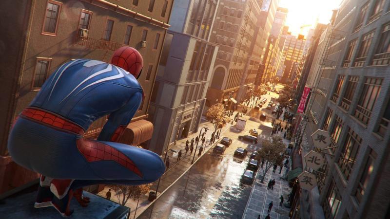 Открытый мир Нью-Йорка в новом трейлере Spider-Man