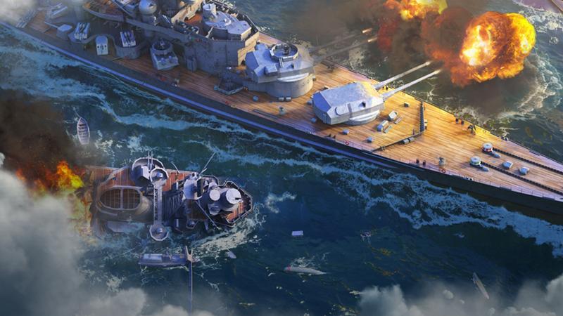 Немецкие линкоры прибывают в World of Warships Blitz