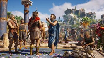 В Assassin's Creed: Odyssey вас ждет более 30 часов интерактивных кат-сцен